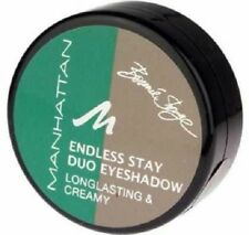 BRAND NEW - MANHATTAN Endless Stay Duo Eyeshadow - Emerald Elegance Green
