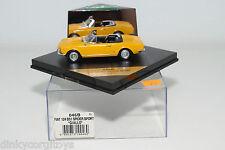 . VITESSE 046B 046 B FIAT 124 BS1 SPIDER SPORT GIALLO YELLOW MINT BOXED