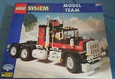 RARE in UK Lego 5571 American Black Cat Truck