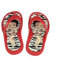 Kinder Flip Flops Badelatschen Sandale Betty Boop  gestreift Gr. 31