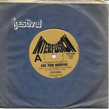 """LIGHTHOUSE - ONE FINE MORNING - AUSTRALIA 7"""" 45 VINYL RECORD - 1971 PSYCHEDELIC"""