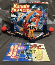 1994 Karate Fighters Dragon Kick VS Red Ninja Minton Bradley Figures W/Box Book
