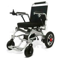 Portable Folding Mobility Old Elderly Disabled Electric Wheelchair 220V 110V