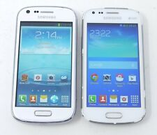 Lot of 2 Working Samsung Galaxy Prevail SPH-M840 / S Duos GT-S7582 Smartphones