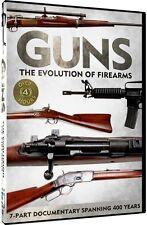 Guns: The Evolution of Firearms [2 Discs] (2013, DVD NEUF) WS2 DISC SET