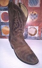 Smokey Mountain Women Denver Leather Western Boot - Oiled Distress Brown - 7D