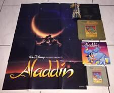 Disney's Aladdin OST 1997 Taiwan OBI LTD Metal Box Gold CD Promo Booklet Poster