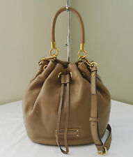 Marc By Marc Jacobs Praline Brown Too Hot To Handle Drawstring Bucket Bag