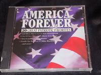 AMERICA FOREVER: 20 Great Patriotic Favorites (CD, 1998) Lee Greenwood, NEW
