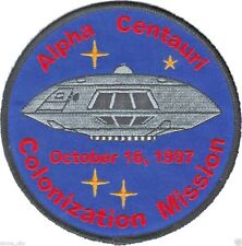 Lost In Space Tv Series Jupiter 2 Ii Colonization Mission Patch Alpha Centauri