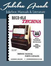 New! Rock Ola 480 Techna Service Manual and Parts Catalog from Jukebox Arcade