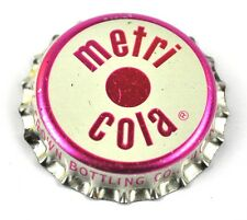 Vintage RC Royal Crown Metri Cola Tappo Bottiglia USA Soda Guarnizione sughero