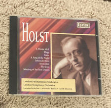 G. Holst - Winter Idyll & Other Orchestral Works [New Cd]