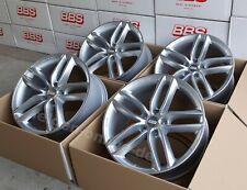 BBS SX Silber 4 Felgen 8x18 Zoll SX0101 Audi A4 + S4 Typ B8 + B9 mit ABE