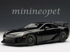 AUTOart 78838 LEXUS LFA NURBURGRING PACKAGE 1/18 MODEL CAR GLOSSY BLACK