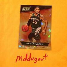 DENZEL VALENTINE #50 BULLS RC Thin Cracked Ice 16/25 made 2016 Panini National