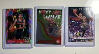 2018-19 OPTIC TRAE YOUNG PRIZM SHOCK HOLO SP RATED ROOKIE #198 RC Lot Of 3