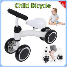 4 Wheel Baby Balance Bike Bicycle Walker No-Pedal Toddler Toy Ride Children Gift