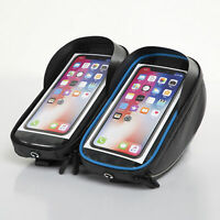 KQ_ Bicycle Cycling Bike Front Top Tube Frame Bag MTB Waterproof Phone Holder Ca