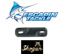 SHOGUN 5mm Torpedo Swivels. Pack of 3. 250kg. Game fishing Swivels
