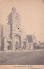 BARSAC l'église attelage