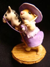 Wee Forest Folk  Special Color Purple Clippity Clop