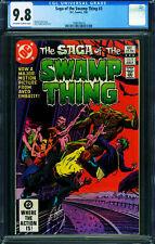 Saga of the SWAMP THING #3-CGC 9.8 DC comic book-1982 1998194010