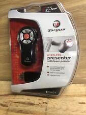 Targus Wireless Presenter Laser Pointer Remote New - AMP03US