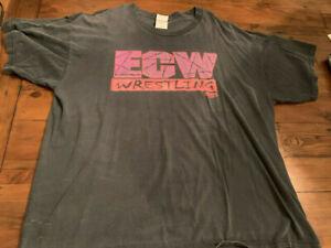 *RARE* ECW Ass Kickin Shirt Vintage 2XL Wrestling
