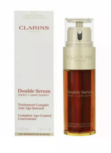Clarins Double Serum Age Control Concentrate - 1.6oz 50ml..