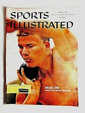 VINTAGE April 25, 1960 Dallas Long Shot Put Track And Field Sports Illustrated