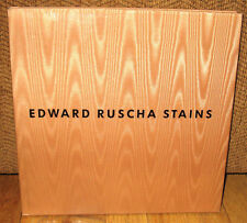 Edward Ed Ruscha Stains Robert Miller Gallery HC Dust Jacket Paintings Monograph
