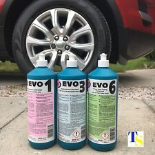 Autosmart EVO 1, EVO 3 & EVO 6 (Compounds to remove scratches, scuffs etc TRADE)