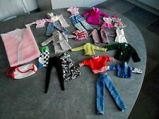 Lot de vêtements pour poupée Barbie  ken vintage