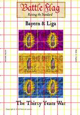 Battle Flag - Bayern & Liga Virgin with Child Banners (Thirty Years War) - 28mm