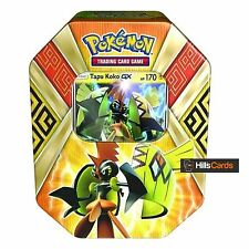 Pokemon TCG Tapu Koko GX Summer 2017 Collectors Tin: Booster Packs + Promo Card