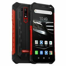 Ulefone Armor 6E 4GB 64GB Android 9.0 IP68 Rugged Smartphone Wireless NFC RED UK