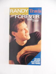 Randy Travis: Forever & Ever [VHS] Includes Exclusive Never-Before-Seen Footage