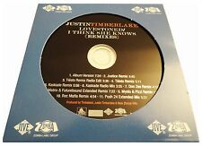 Justin Timberlake LOVESTONED/I THINK SHE KNOWS REMIXES (Promo CD Single) (2007)