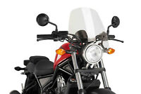 PUIG NAKED N.G. TOURING SCREEN HONDA REBEL 500 17 CLEAR