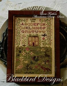 The Country Life by Blackbird Designs cross stitch pattern
