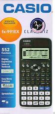 Casio FX-991EX Calculadora Científica 552 Function - Classwiz, FX 991 EX, New