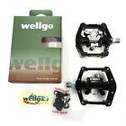 Wellgo WAM-D10 DH Magnesium 9/16