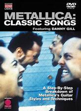 Metallica . Classic Songs Guitar Legendary Licks .. DVD