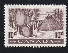Canada 1950 Drying Skins 10c Fur Resources, MNH sc#301  [v2]