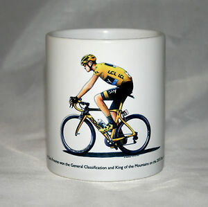 Cycling Mug. Chris Froome, 2015 Tour de France winner