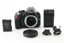 【Excellent】Nikon D D3100 14.2MP Digital SLR Camera - Black w/cap/butter/charger