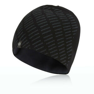 Ronhill Classic Running Beanie Black/Charcoal - One Size *NEW*