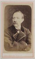 Joseph Coudroy Roubaix Francia Foto CDV PL52L3n39 Vintage Albumina