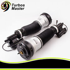 2 Front Suspension Shock For Mercedes 4MATIC W220 S Class 2203202238 2203202138